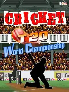 Cricket T20 World Championship Java Game Image 1