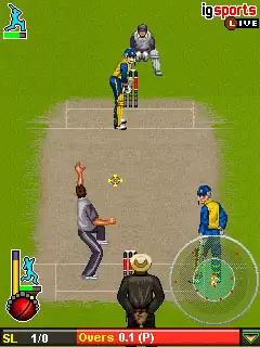 Cricket T20 World Championship Java Game Image 2