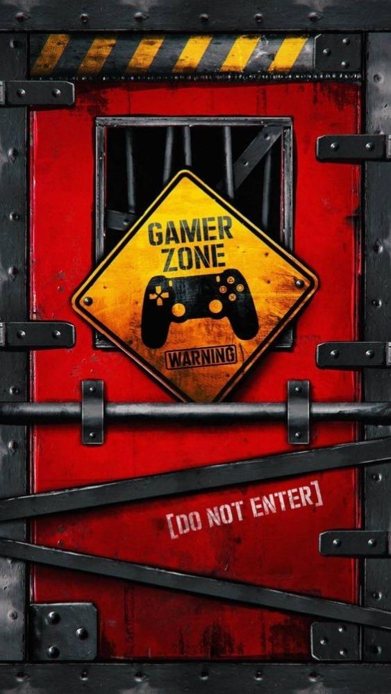 Gamer Zone Mobile Phone Wallpaper Image 1