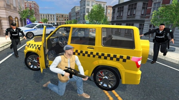Real Gangster Simulator Grand City Android Game Image 1
