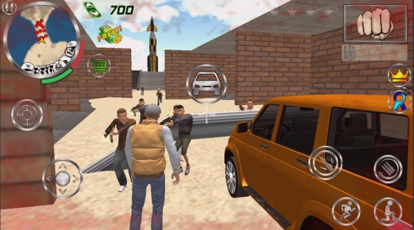Real Gangster Simulator Grand City Android Game Image 2