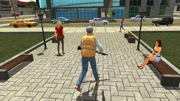 Real Gangster Simulator Grand City Android Game Image 3