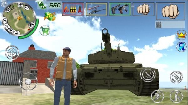 Real Gangster Simulator Grand City Android Game Image 4