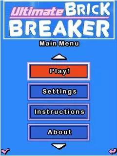 Ultimate Brick Breaker Java Game Image 2