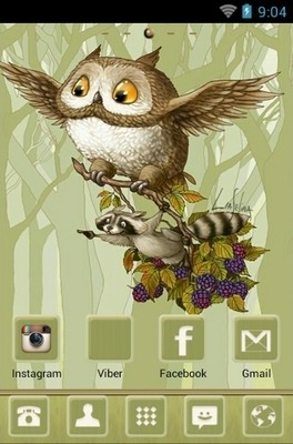 We Are Flying Go Launcher Android Theme Image 1