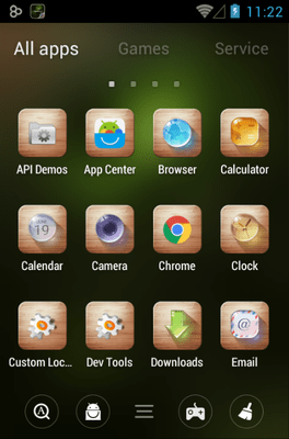Dewdrop Go Launcher Android Theme Image 2