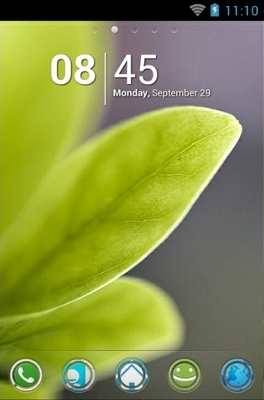 Fresh Spring Go Launcher Android Theme Image 1