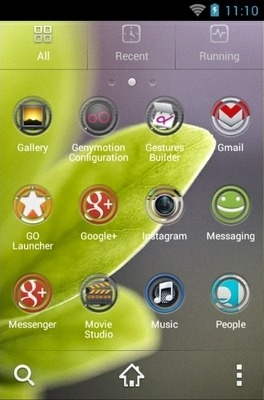 Fresh Spring Go Launcher Android Theme Image 2