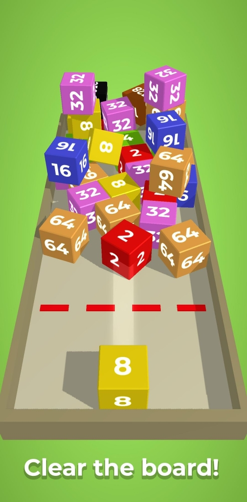 Chain Cube: 2048 3D Merge Game Android Game Image 4