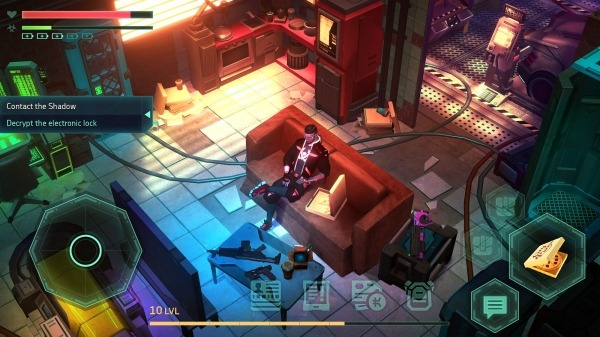 Cyberika: Action Cyberpunk RPG Android Game Image 1