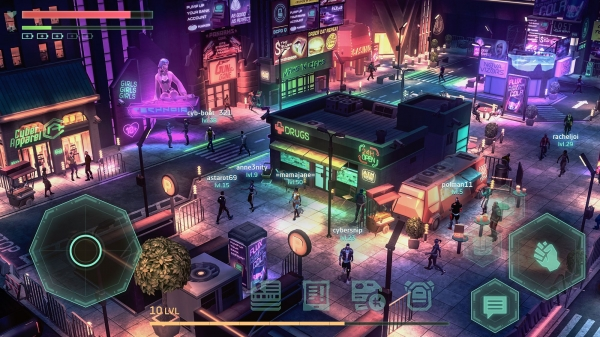Cyberika: Action Cyberpunk RPG Android Game Image 3