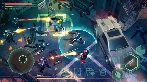 Cyberika: Action Cyberpunk RPG Android Game Image 4