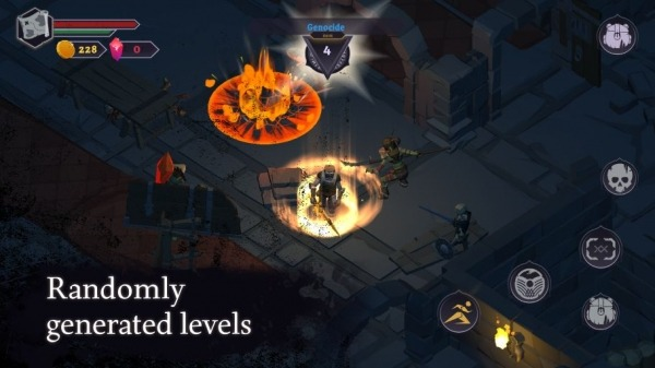 Dread Rune: Roguelike Dungeon Crawler Android Game Image 1