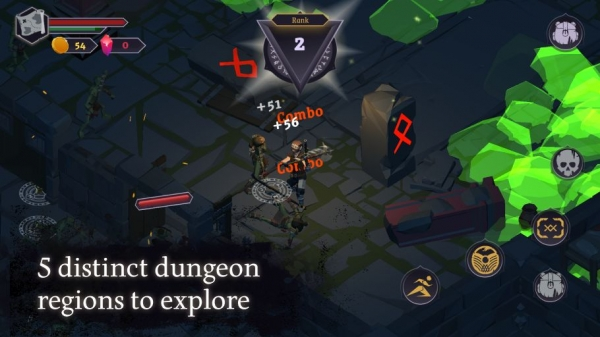 Dread Rune: Roguelike Dungeon Crawler Android Game Image 2