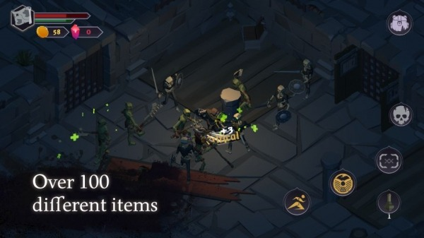 Dread Rune: Roguelike Dungeon Crawler Android Game Image 3
