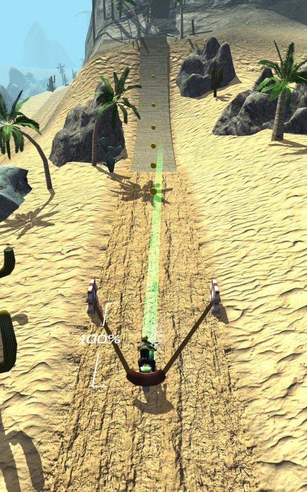 Slingshot Stunt Biker Android Game Image 1