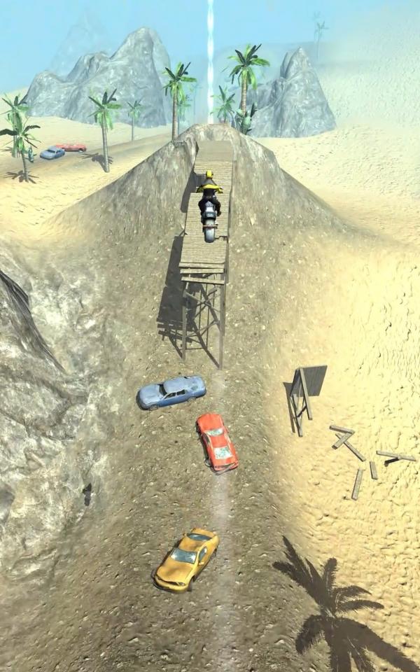 Slingshot Stunt Biker Android Game Image 2