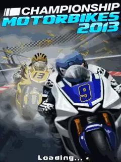 Championship Motorbikes 2013 Java Game Image 1