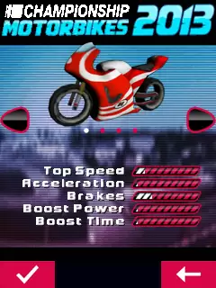 Championship Motorbikes 2013 Java Game Image 2