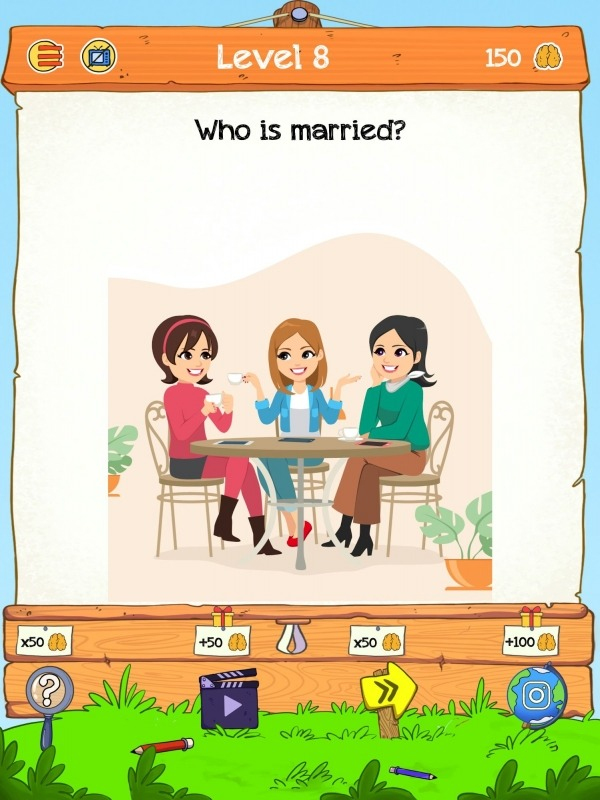 Braindom 2: Who Is Lying? Fun Brain Teaser Riddles Android Game Image 1