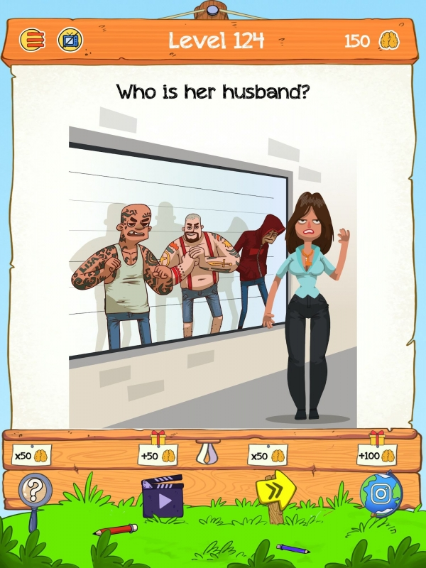 Braindom 2: Who Is Lying? Fun Brain Teaser Riddles Android Game Image 3
