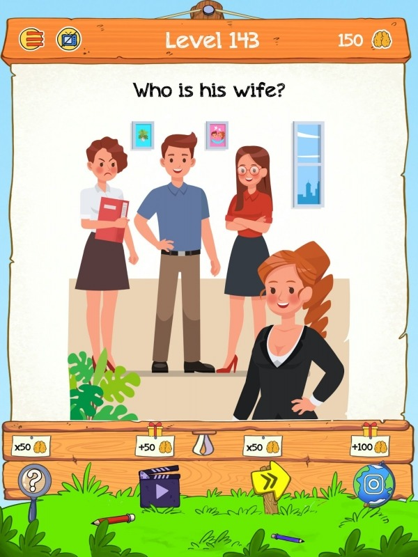 Braindom 2: Who Is Lying? Fun Brain Teaser Riddles Android Game Image 4
