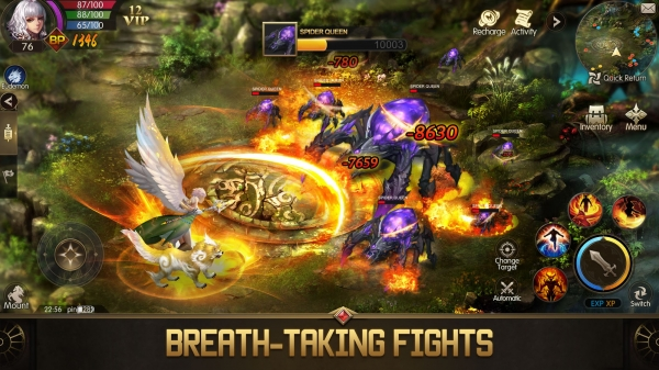 Eudemons M: Fantasy Of Legends Android Game Image 2