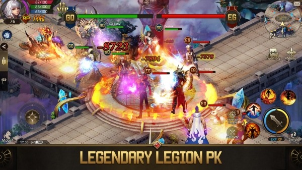 Eudemons M: Fantasy Of Legends Android Game Image 3