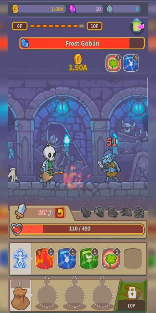 Hybrid Warrior : Dungeon Of The Overlord Android Game Image 2