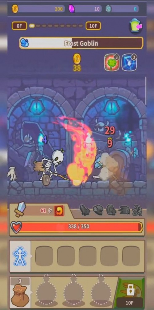 Hybrid Warrior : Dungeon Of The Overlord Android Game Image 3