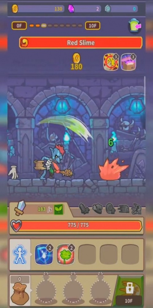 Hybrid Warrior : Dungeon Of The Overlord Android Game Image 4
