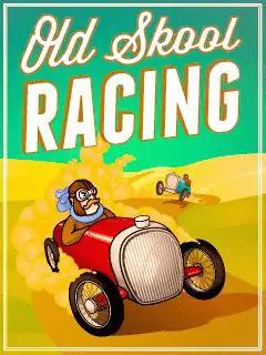 Old School Racing Java Game Image 1