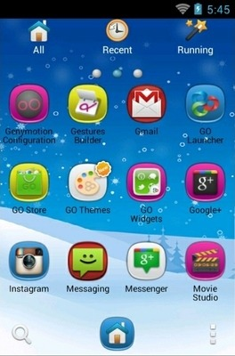 Xmas Go Launcher Android Theme Image 2