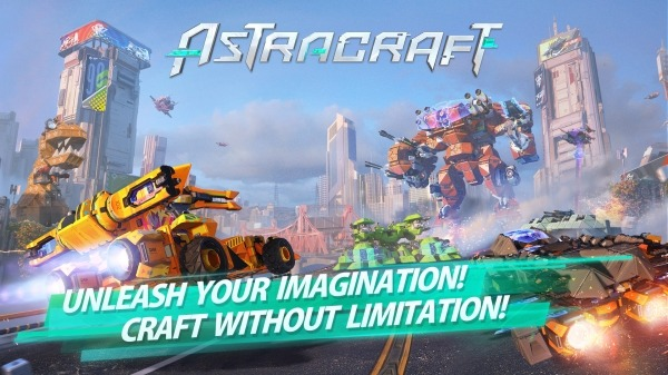 Astracraft Android Game Image 1