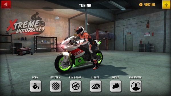 Xtreme Motorbikes Android Game Image 1