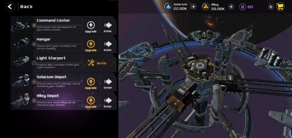 Departing Terra Android Game Image 1