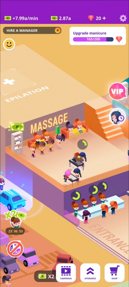Idle Beauty Salon: Hair And Nails Parlor Simulator Android Game Image 4