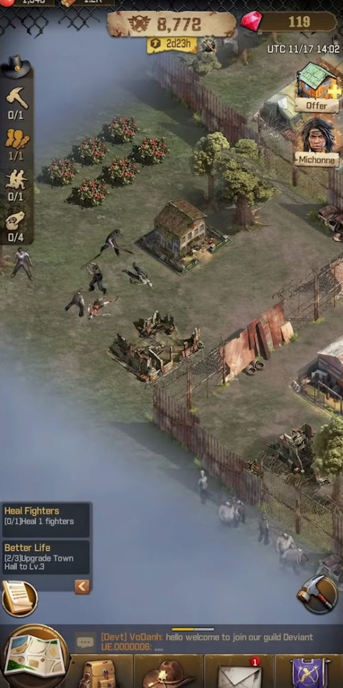 The Walking Dead: Survivors Android Game Image 4