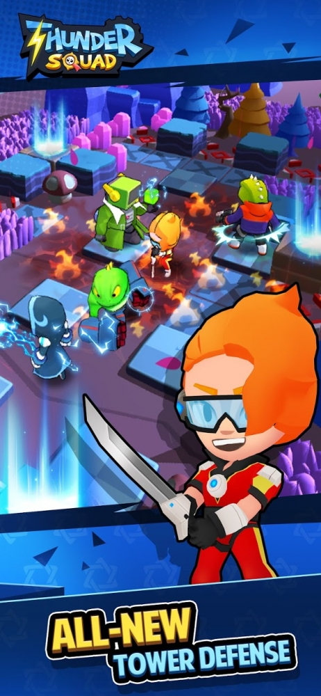 Thunder Squad Android Game Image 1