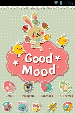 Good Mood Go Launcher Android Theme Image 1