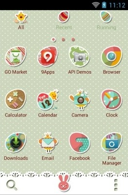 Good Mood Go Launcher Android Theme Image 2