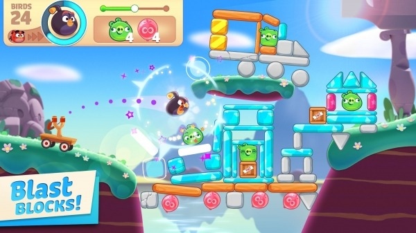 Angry Birds Journey Android Game Image 2