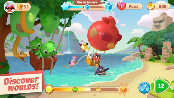 Angry Birds Journey Android Game Image 3
