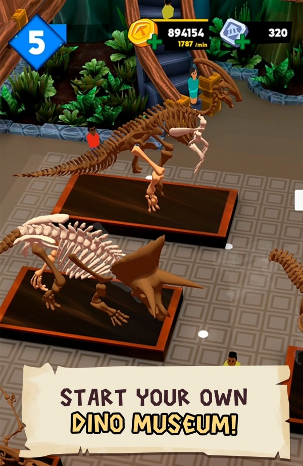 Dino Quest 2: Jurassic Bones In 3D Dinosaur World Android Game Image 1