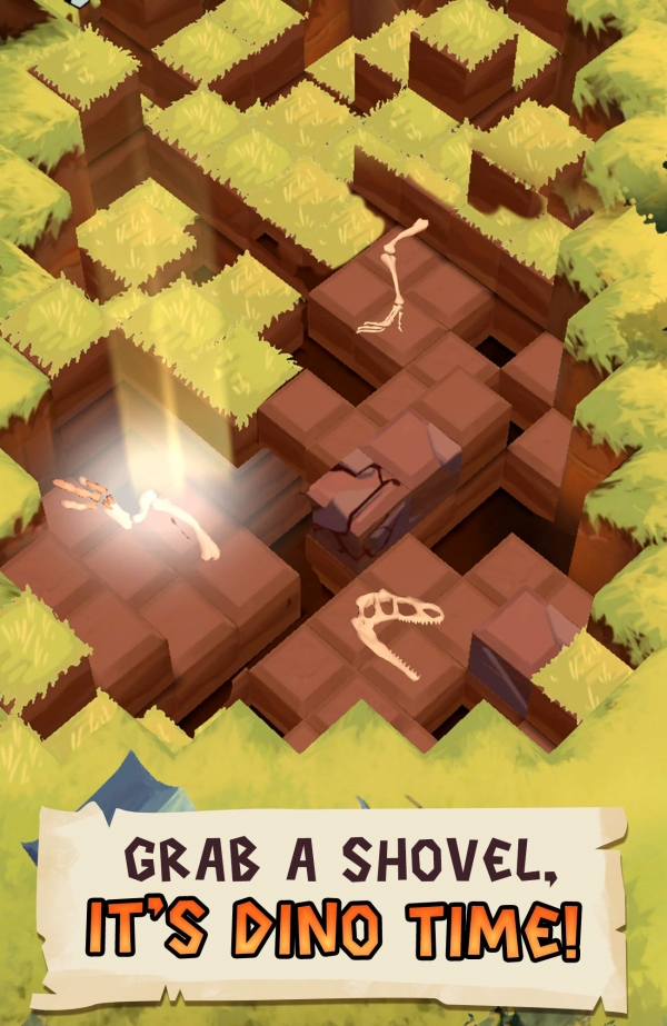 Dino Quest 2: Jurassic Bones In 3D Dinosaur World Android Game Image 2