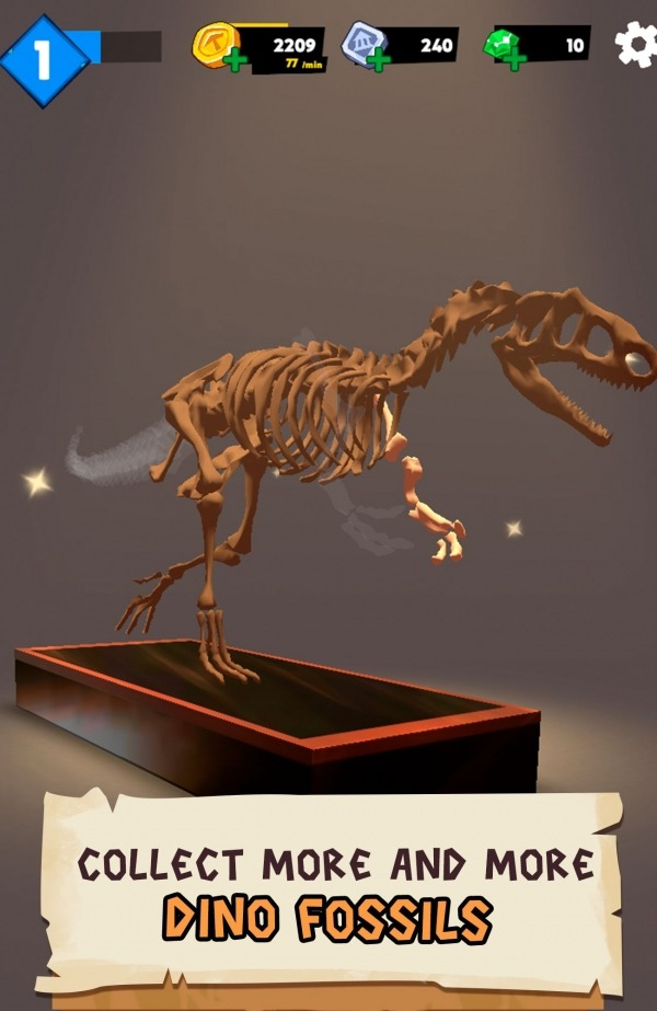Dino Quest 2: Jurassic Bones In 3D Dinosaur World Android Game Image 4