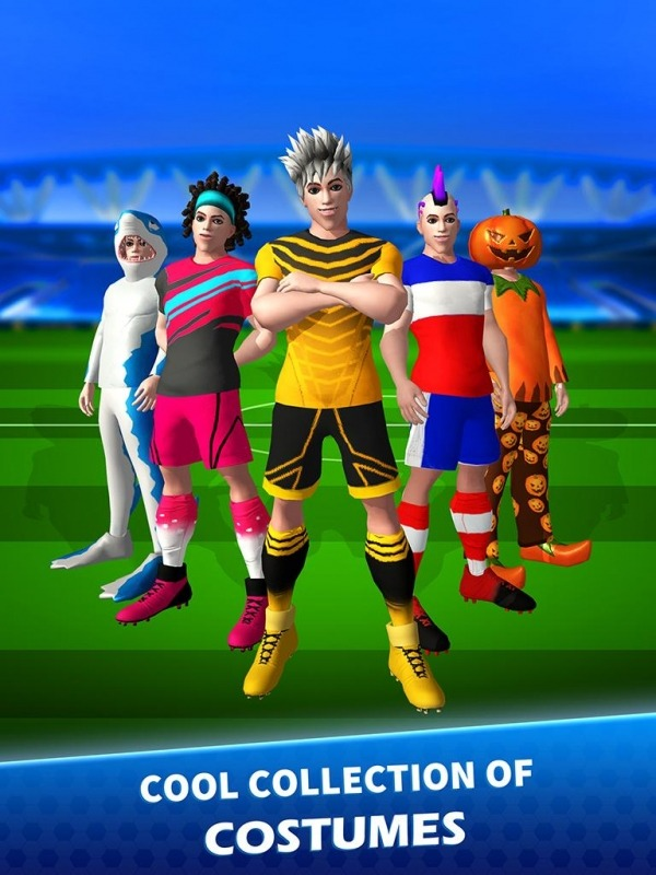 Goal Blitz Android Game Image 1