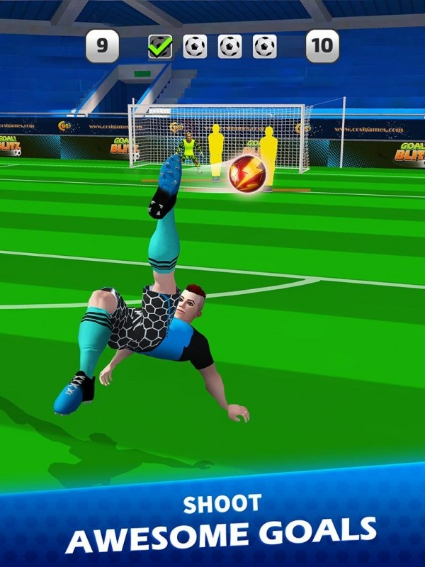 Goal Blitz Android Game Image 2