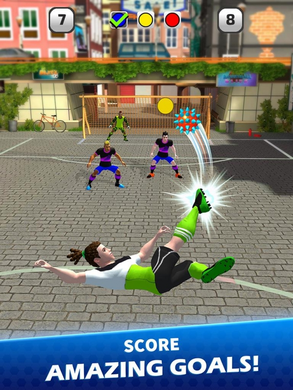 Goal Blitz Android Game Image 3