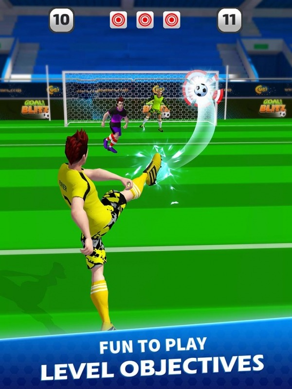 Goal Blitz Android Game Image 4